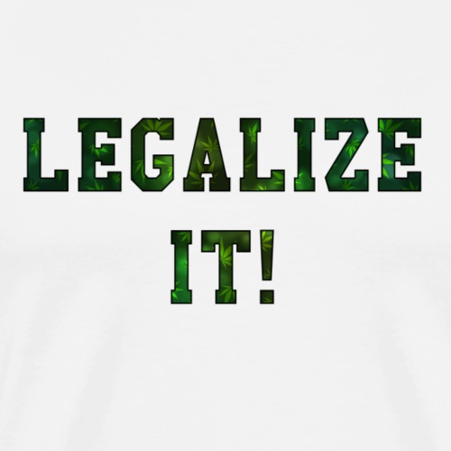 Legalize It - Männer Premium T-Shirt