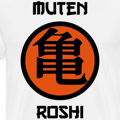 muten roshi 2 - Männer Premium T-Shirt