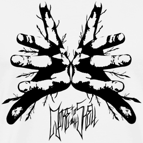Moretotheshell - MTTS - Logo 2018 Schwarz - Männer Premium T-Shirt