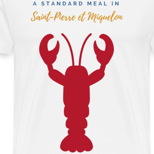 22- Homard a standard meal in - T-shirt Premium Homme