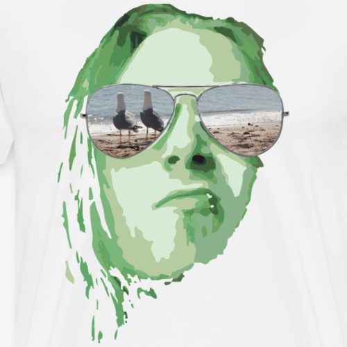 summerfeeling gruen - Männer Premium T-Shirt