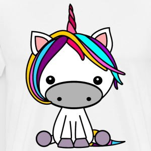 Unicorn stained - Men's Premium T-Shirt