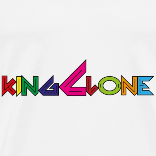 pop King Clone - Maglietta Premium da uomo