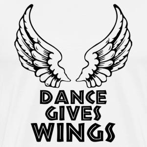 DANCE GIVES WINGS - DANCESHIRT - Männer Premium T-Shirt