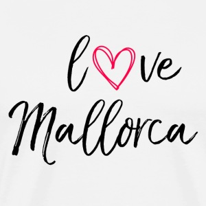 love Mallorca in black - Men's Premium T-Shirt