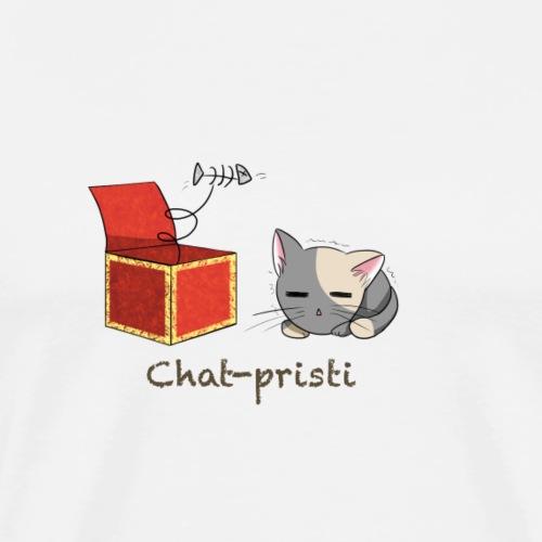 Chat-pristi - T-shirt Premium Homme