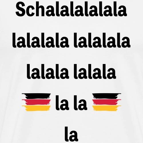 Schalalala - Männer Premium T-Shirt
