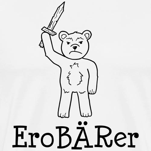 EroBÄRer - Geschenk für Kinder und Baby - Männer Premium T-Shirt