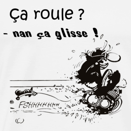 glisse - T-shirt Premium Homme