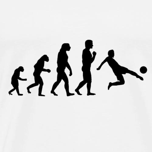 Evolution - Fußball - Männer Premium T-Shirt