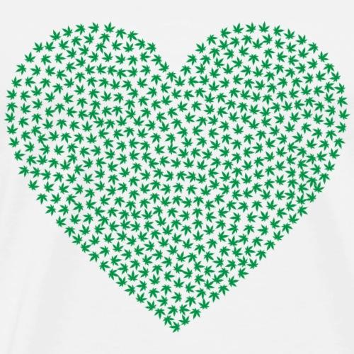 Marihuana Love - Männer Premium T-Shirt