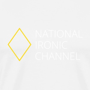 Ironic National Channel - Long Sleeve T-Shirt - Men's Premium T-Shirt