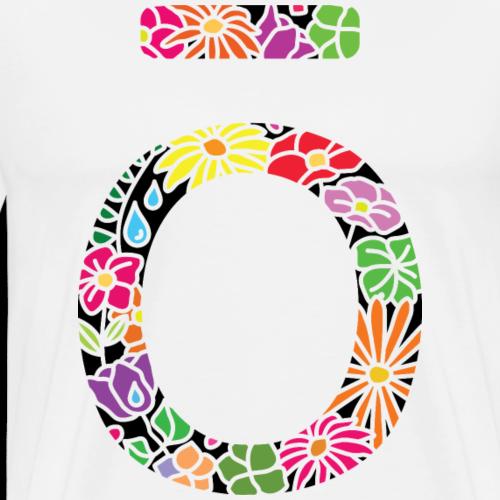 doterra colourful floral design - Men's Premium T-Shirt