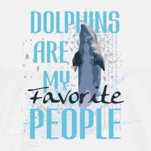 Dolphin - Männer Premium T-Shirt
