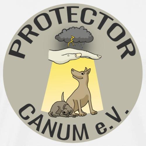 Protector Canum Logo Collection - Männer Premium T-Shirt