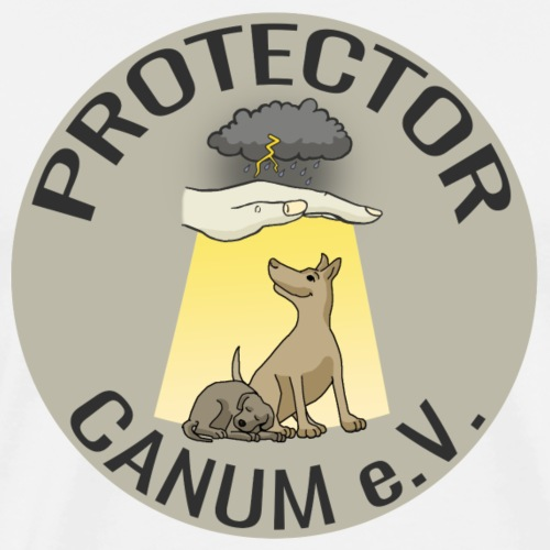 Protector Canum Logo Collection - Männer Premium T-Shirt