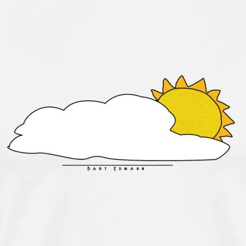 Bart Edmann Cloud & Sun - Männer Premium T-Shirt