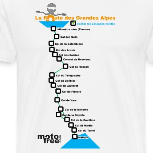 Cols à cocher. - T-shirt Premium Homme
