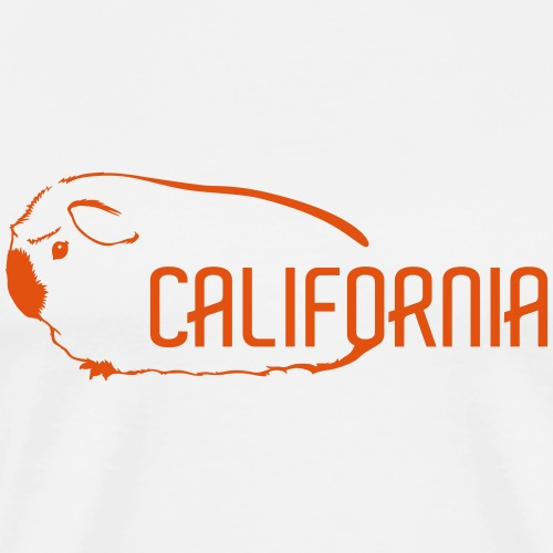 California - Meerschweinchen - Männer Premium T-Shirt