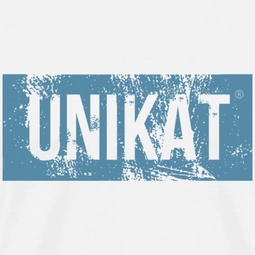 unikat blue - Männer Premium T-Shirt