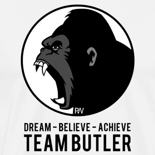 Team Butler - Pure Warrior - Men's Premium T-Shirt