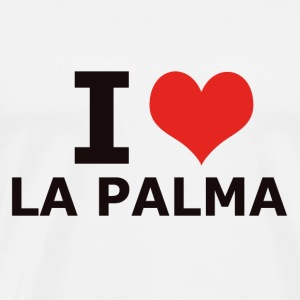 I LOVE LA PALMA - Men's Premium T-Shirt
