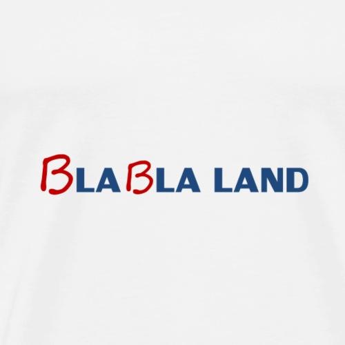 Bla bla land (bleu) - T-shirt Premium Homme