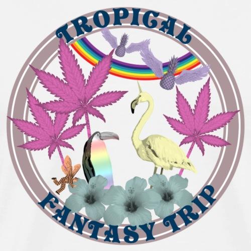 Fantasy tropical Trip 2 - T-shirt Premium Homme