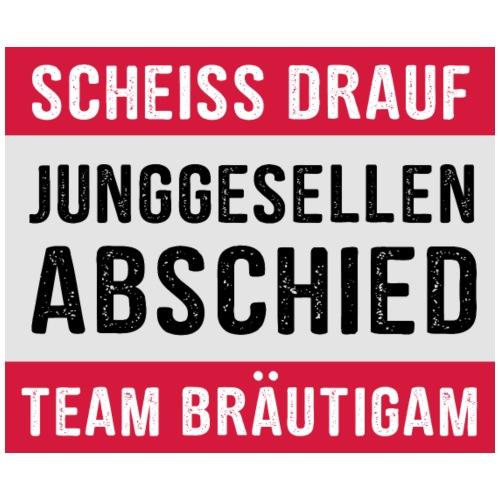 Team Bräutigam - JGA T-Shirt - Junggeselle Shirt - Männer Premium T-Shirt