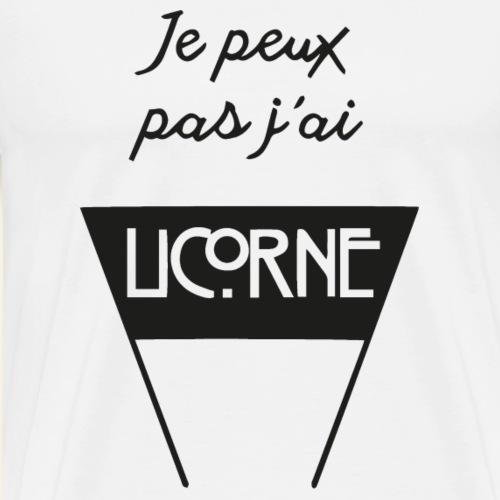 JPP j ai Licorne - T-shirt Premium Homme