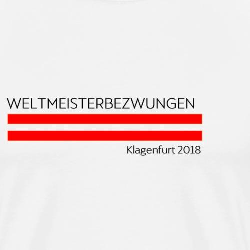 Österreich Deutschland Klagenfurt Fußball Corodba - Männer Premium T-Shirt