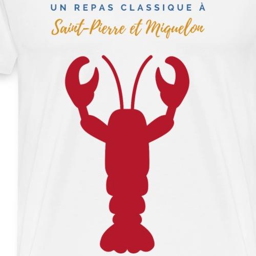 22 - Homard Fr - T-shirt Premium Homme