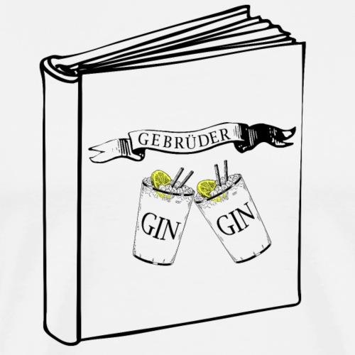 Die Geschichten der Gebrüder Gin - Männer Premium T-Shirt