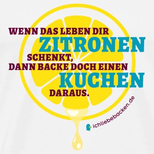 Zitronenkuchen - Männer Premium T-Shirt