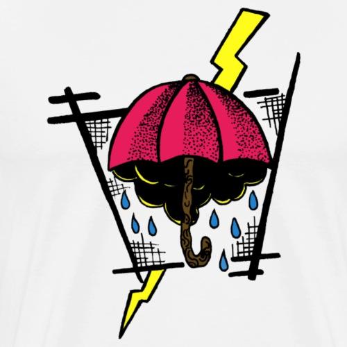 Regenschirm - Männer Premium T-Shirt