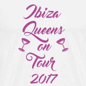 Ibiza Queens on Tour 2017 - Männer Premium T-Shirt