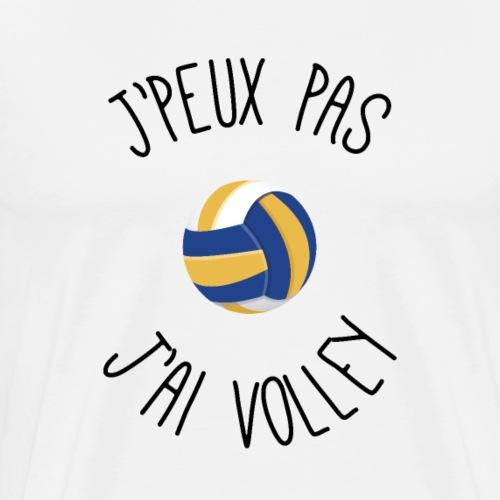 Je peux pas j'ai volley - T-shirt Premium Homme