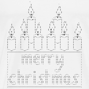 Isle of ASCII Candles - Men's Premium T-Shirt