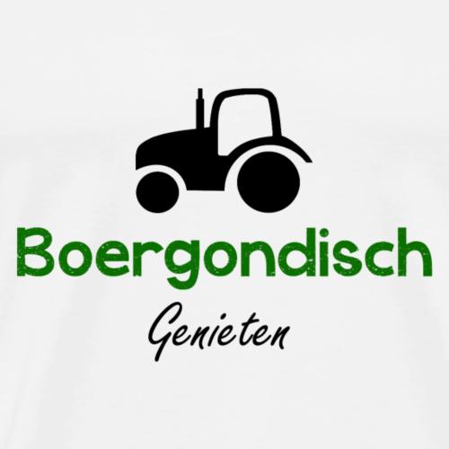 Boergondisch - Mannen Premium T-shirt