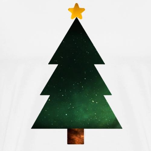 Galaxis tree - Männer Premium T-Shirt
