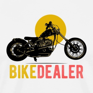 Bike Dealer · LogoArt - Mannen Premium T-shirt