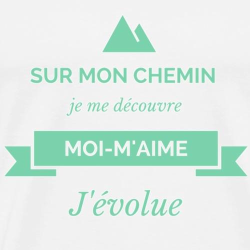 MON CHEMIN - T-shirt Premium Homme