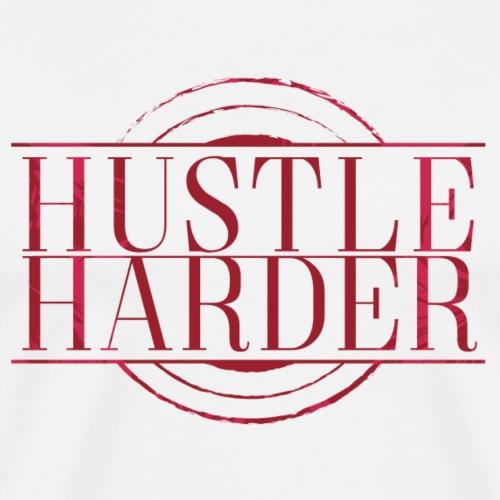 Hustle-Harder - Men's Premium T-Shirt