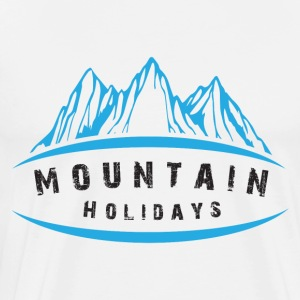 Mountain Holidays - Premium-T-shirt herr