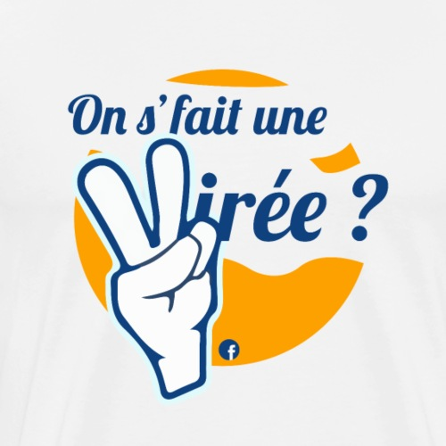 On s'fait une virée ? Logo : Orange - T-shirt Premium Homme