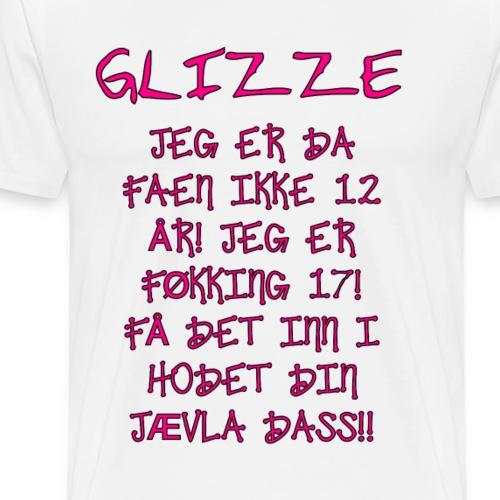 IKKE 12 ÅR - Premium T-skjorte for menn