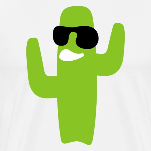 Crazy Cactus - Men's Premium T-Shirt