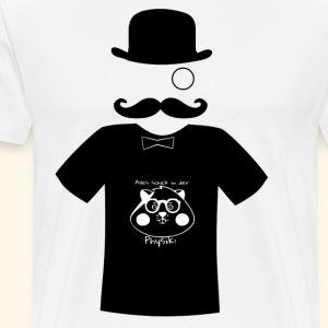 Mister Montys Hamster Shirt - Männer Premium T-Shirt