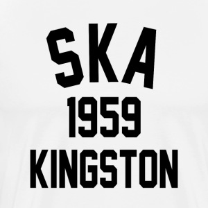 1959 Ska Kingston - Premium-T-shirt herr