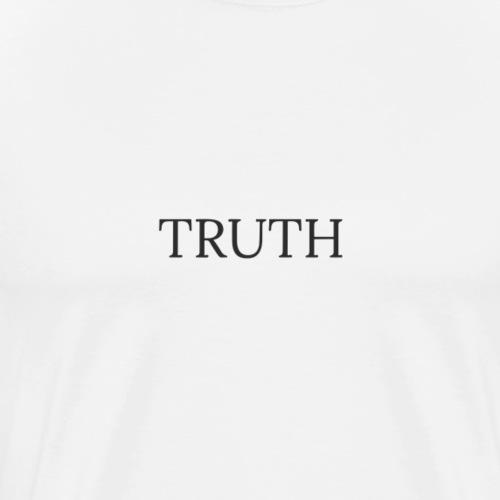 Truth by Howard Charles - Men's Premium T-Shirt